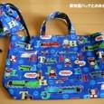 幼稚園バッグとお弁当袋